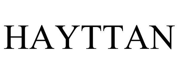 Trademark Logo HAYTTAN