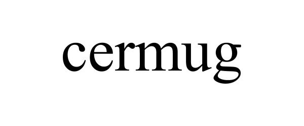 Trademark Logo CERMUG