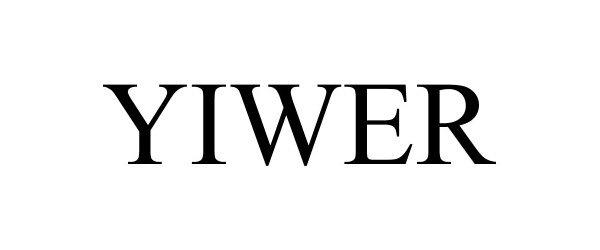 Trademark Logo YIWER