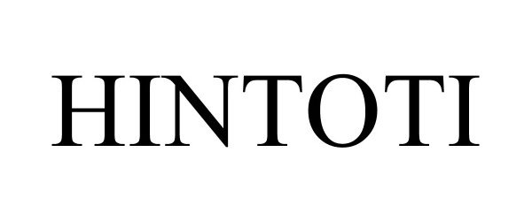 Trademark Logo HINTOTI