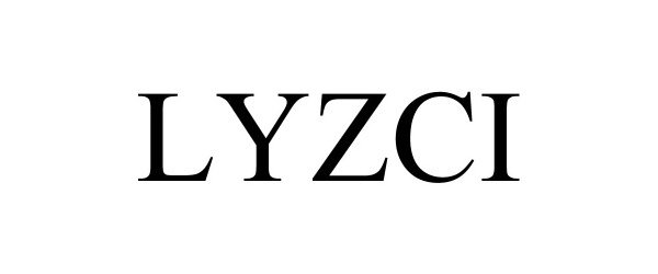 Trademark Logo LYZCI