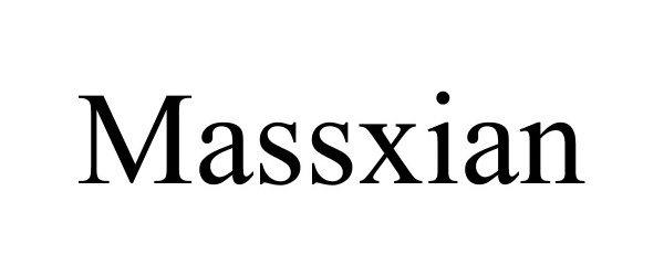 Trademark Logo MASSXIAN