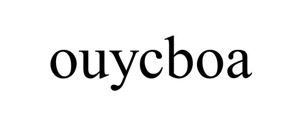 Trademark Logo OUYCBOA