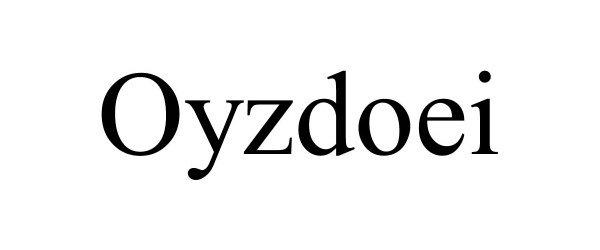 Trademark Logo OYZDOEI