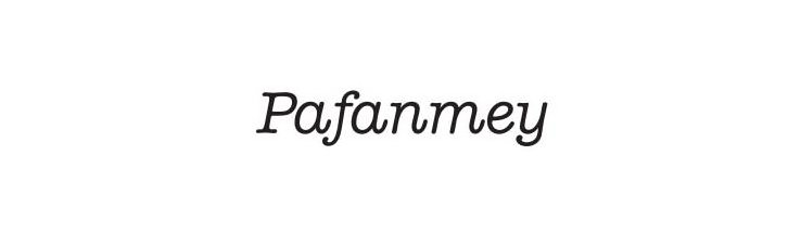 Trademark Logo PAFANMEY
