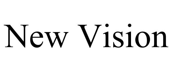Trademark Logo NEW VISION