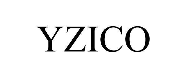 Trademark Logo YZICO