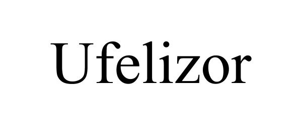 Trademark Logo UFELIZOR