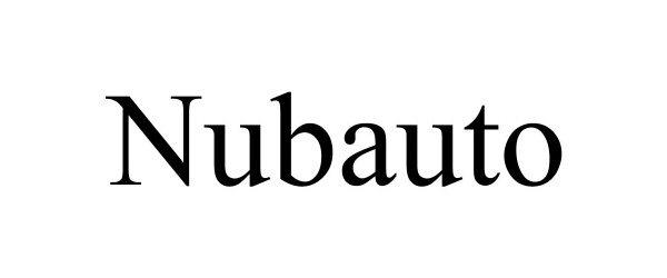 Trademark Logo NUBAUTO