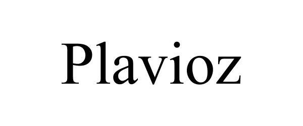 Trademark Logo PLAVIOZ