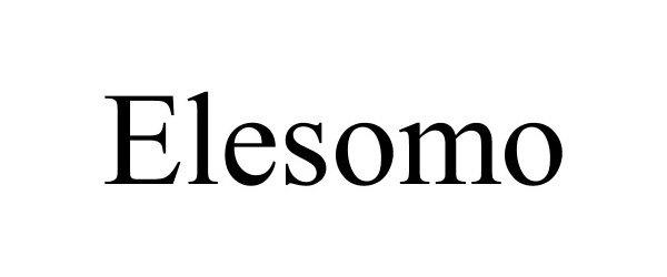 Trademark Logo ELESOMO