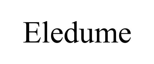 Trademark Logo ELEDUME