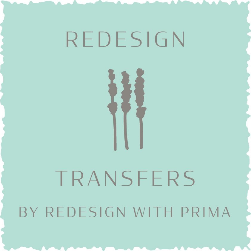 Trademark Logo REDESIGN TRANSFERS BY REDESIGN WITH PRIMA