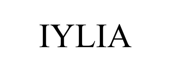 Trademark Logo IYLIA