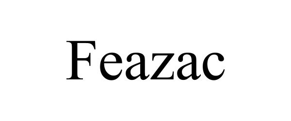 Trademark Logo FEAZAC