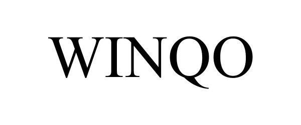 Trademark Logo WINQO