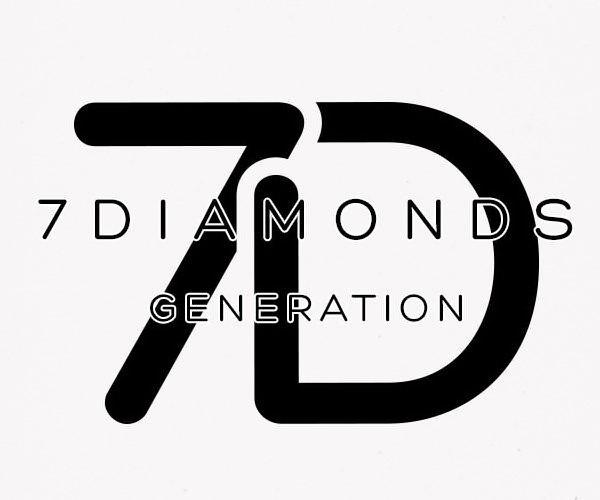 Trademark Logo 7 D 7 DIAMONDS GENERATION
