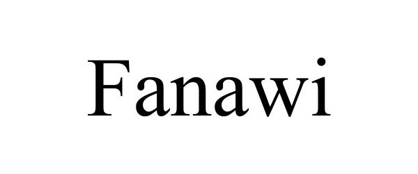 Trademark Logo FANAWI