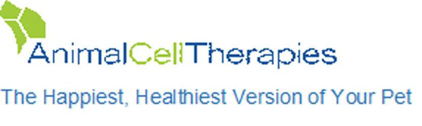 Trademark Logo ANIMAL CELL THERAPIES-THE HAPPIEST HEALTHIEST VERSION OF YOUR PET