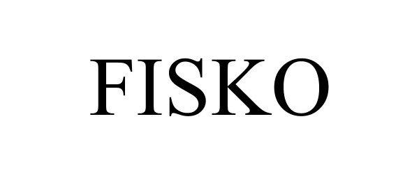 Trademark Logo FISKO