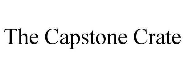 THE CAPSTONE CRATE