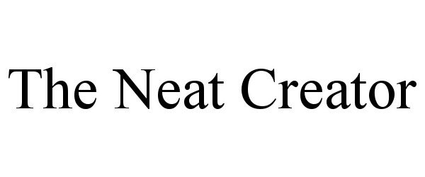 THE NEAT CREATOR