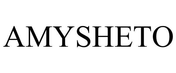 Trademark Logo AMYSHETO