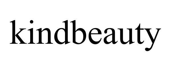 Trademark Logo KINDBEAUTY