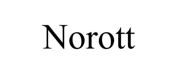 Trademark Logo NOROTT