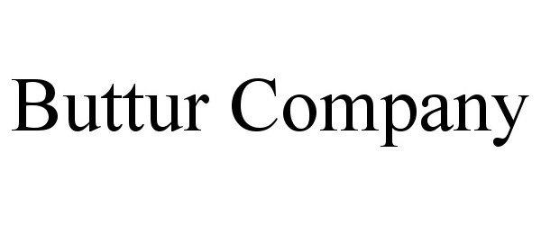 Trademark Logo BUTTUR COMPANY