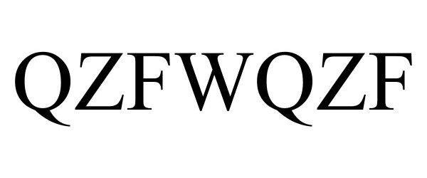 Trademark Logo QZFWQZF