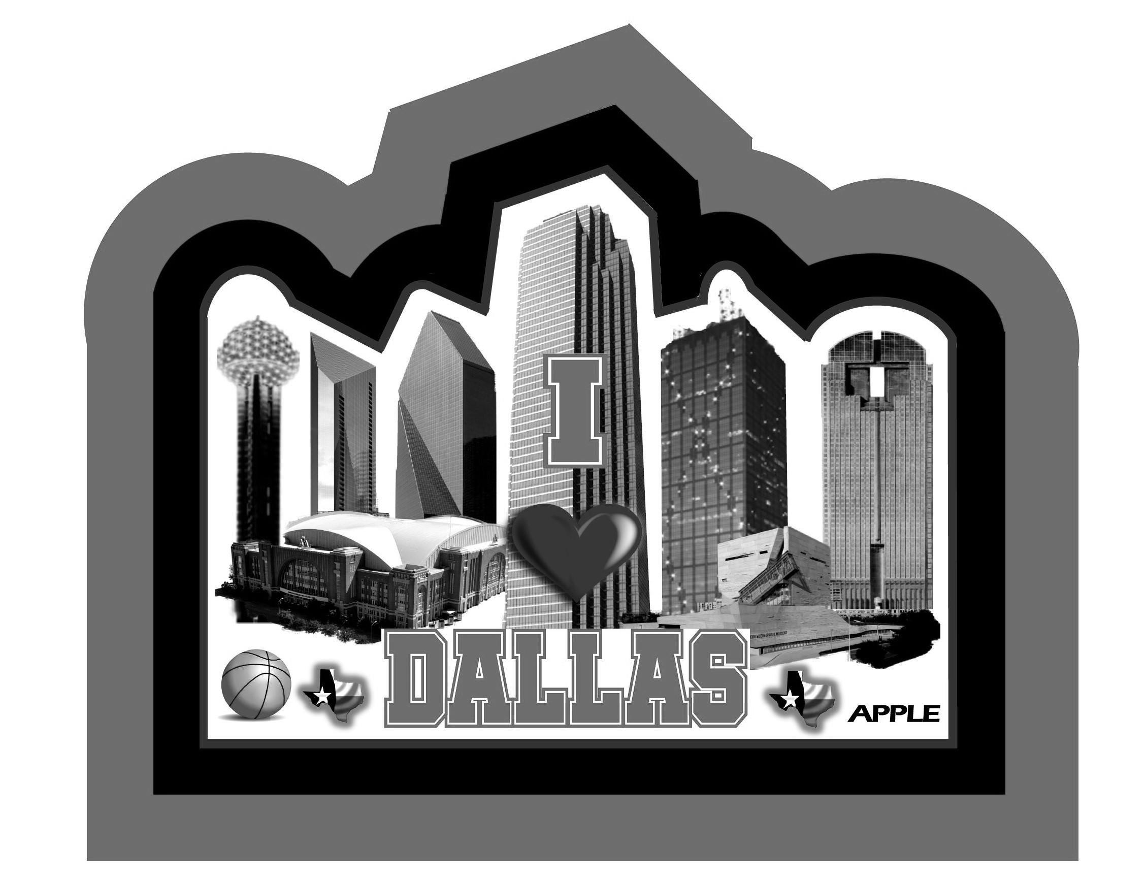Trademark Logo I DALLAS APPLE