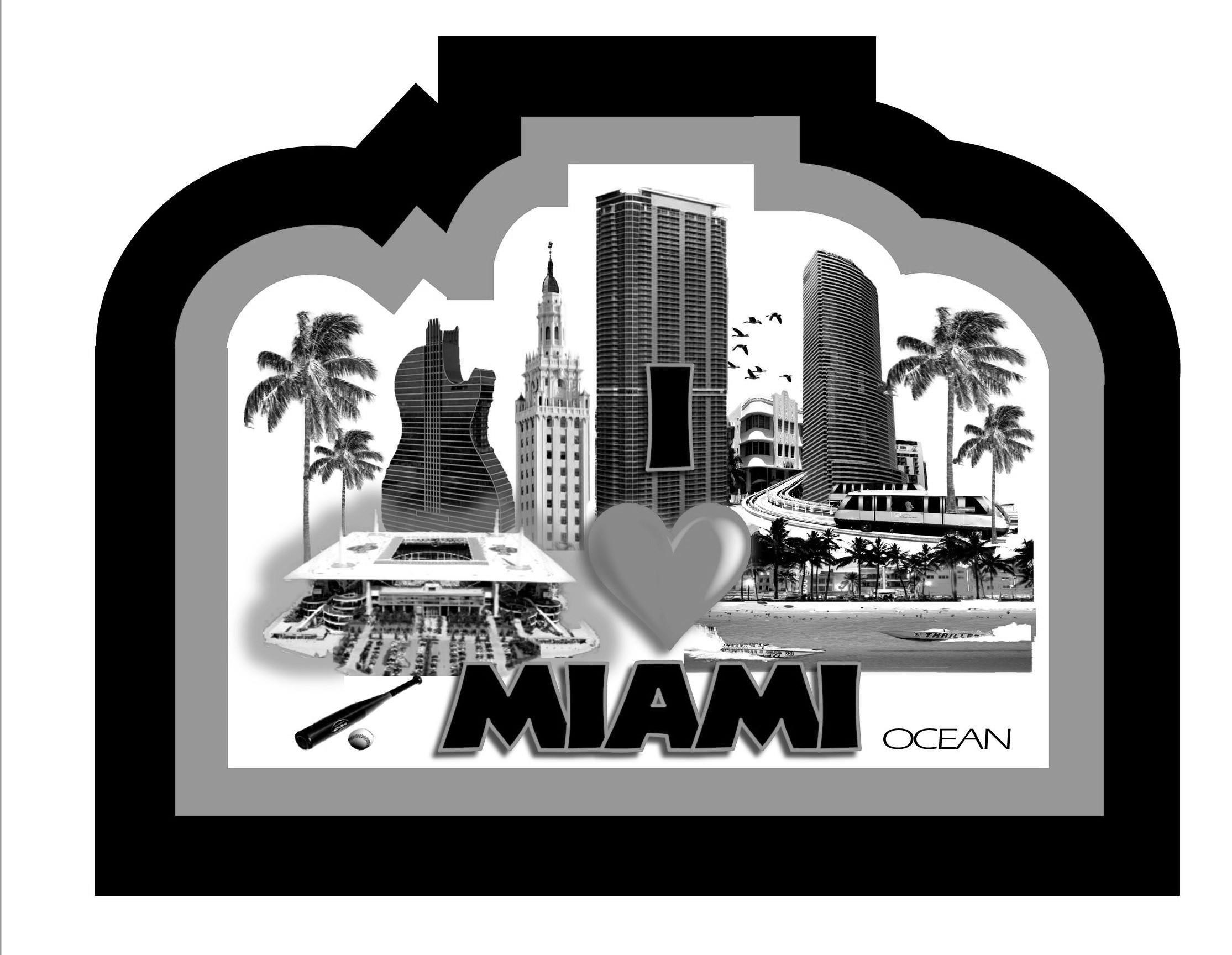 Trademark Logo I MIAMI OCEAN THRILLER 08