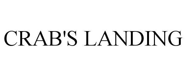 Trademark Logo CRAB'S LANDING