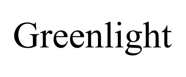 Trademark Logo GREENLIGHT