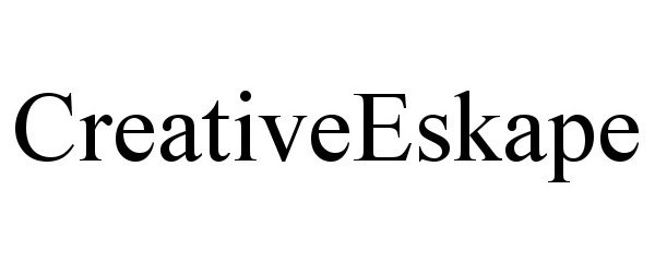 Trademark Logo CREATIVEESKAPE
