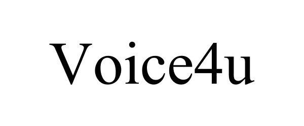 Trademark Logo VOICE4U