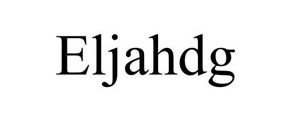 Trademark Logo ELJAHDG