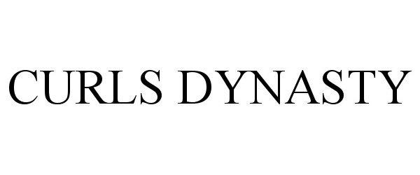 Trademark Logo CURLS DYNASTY