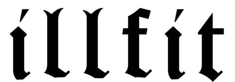 Trademark Logo ILLFIT