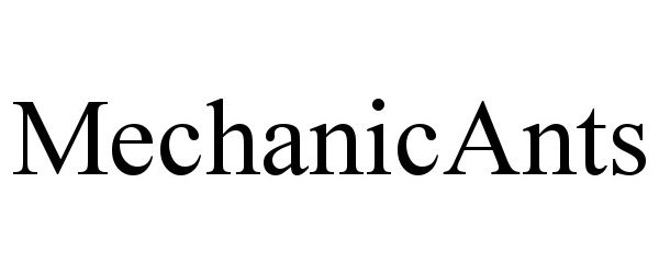 Trademark Logo MECHANICANTS