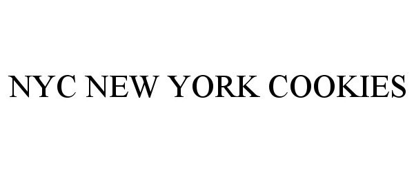 Trademark Logo NYC NEW YORK COOKIES