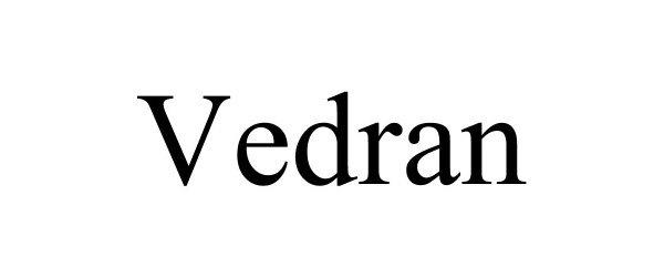 Trademark Logo VEDRAN
