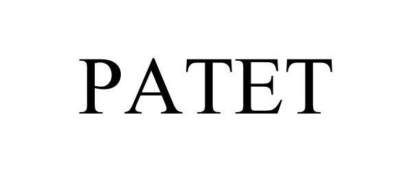 Trademark Logo PATET