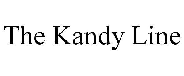 Trademark Logo THE KANDY LINE
