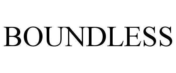 Trademark Logo BOUNDLESS