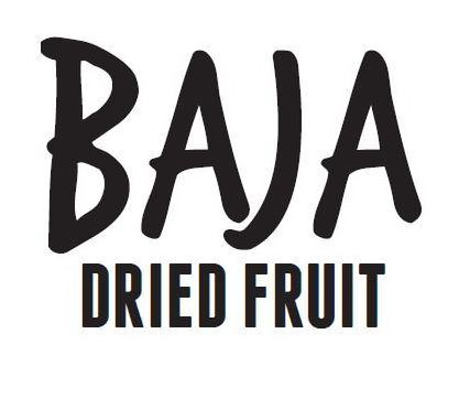 Trademark Logo BAJA DRIED FRUIT