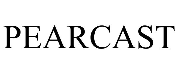 Trademark Logo PEARCAST