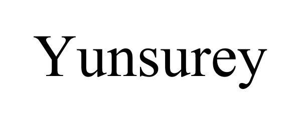 Trademark Logo YUNSUREY