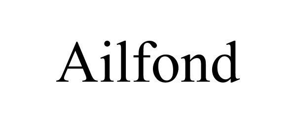Trademark Logo AILFOND